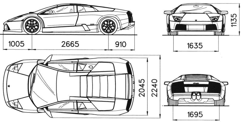 Lamborghini Diablo Dimensions Auto Bild Idee